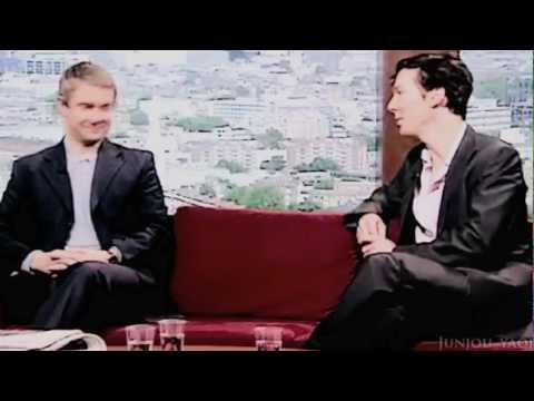 Benedict Cumberbatch & Martin Freeman - baby i love you