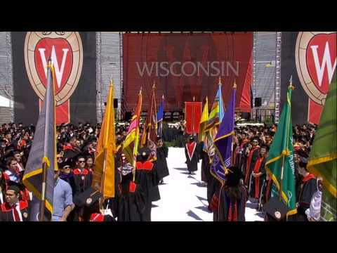 UW-Madison Spring Commencement, May 13, 2017