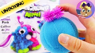 Bunchems Alive Motorized Action Pack | Jumpy Animals DIY | Unboxing