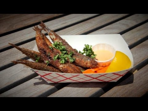 Generate Anchovies You Eat Like French Fries - NY CHOW Report Images