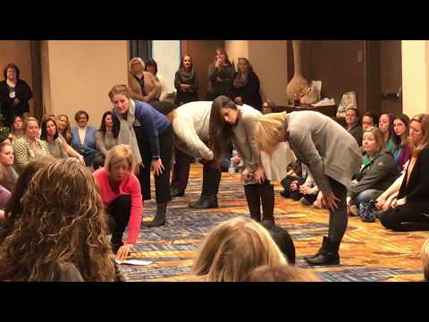 Live from IAG in Indianapolis - Mrs. Frizzi shares book Breathe and Stretch