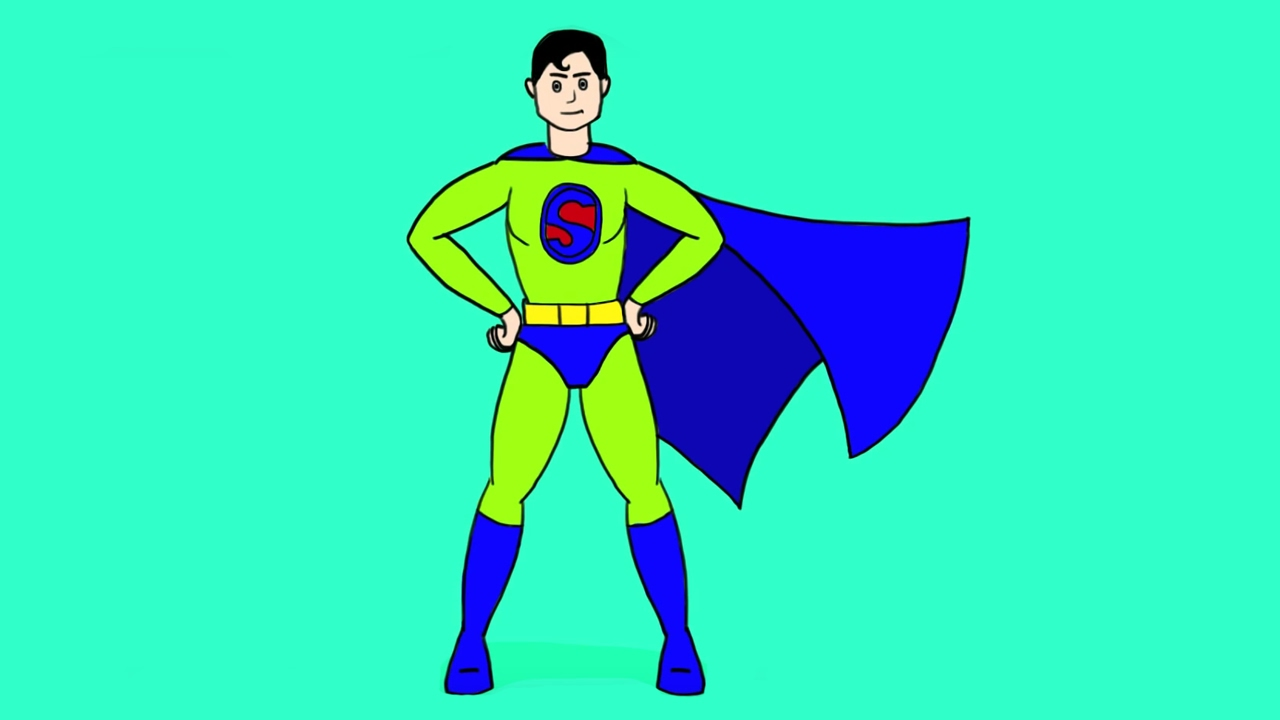 Apprendre dessiner superman youtube - Superman dessin ...