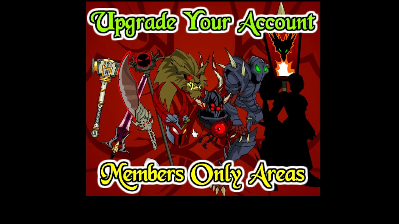 aqw how to get free upgrade