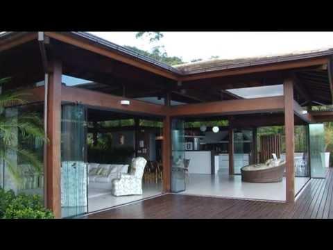 Casa na praia do Silveira em Garopaba.Projeto: Waleska Burlacenko