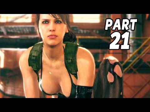 Let's Play Metal Gear Solid 5 Phantom Pain Gameplay German Deutsch #21 - Quiet vs SniperKillerOne