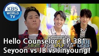 Doing pushu-ps! Without a break! OMG, GOT7!!  [Hello Counselor ENG,THA/2018.09.24]