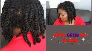 10 TIPS ON HOW I GOT MY 4C HAIR TO GROW plus MOISTURIZE AND SEAL