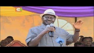 Raila: Wafuasi wetu watasusia uchaguzi