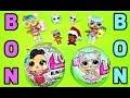 LOL Bon Bon FAMILY L.O.L. Surprise Sisters BLING & Series 2 LOL Elf on the Shelf  DEBUTE. Karolina1