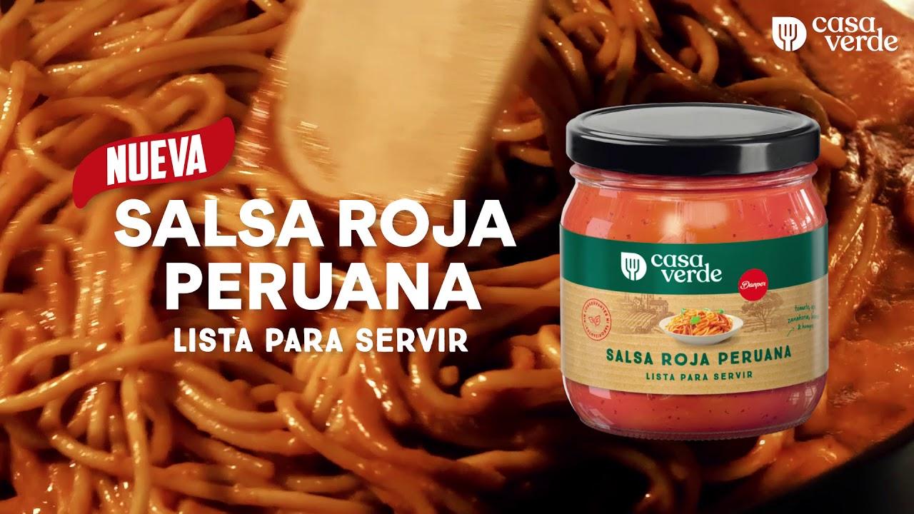 Casa Verde Presenta Nueva Salsa Roja Peruana Youtube