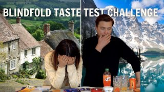 Blindfold Taste Test Challenge (Part 2)  British &amp Canadian Food: Which Is Better?