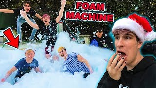 MAKING IT SNOW IN LA (FOAM MACHINE)