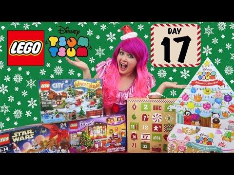 Day 17 - LEGO & Tsum Tsum Advent Calendars 2016 | COUNTDOWN TO CHRISTMAS | KiMMi THE CLOWN