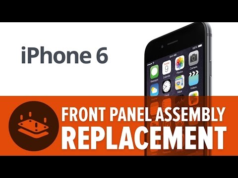 How To: Replace the Screen on Your iPhone 6! (Front Panel Assembly)