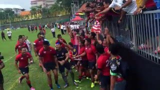 Asia Rugby Championship 2016 Division 1: Sri Lanka vs Malaysia