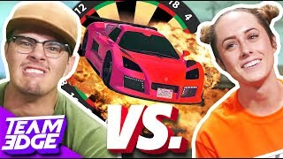 Car Darts Challenge! | GTA 5