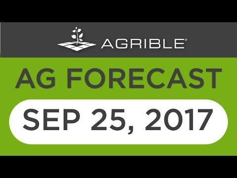 Morning Farm Report Ag Forecast - Sept 25, 2017