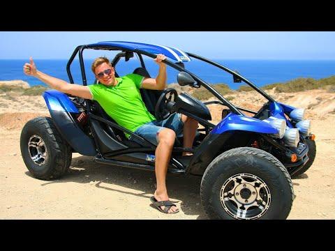 Аренда багги на Кипре 🏎 - с ветерком по пляжам! Тест-драйв багги в Айя-Напе и общественный транспорт