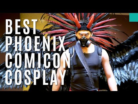 Found the BEST Cosplayers! | Phoenix Comicon 2017