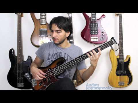 Through The Fire (Chaka Khan) Bass Cover