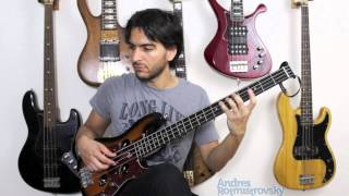 Through The Fire (Chaka Khan) Bass Cover