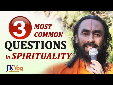 3 Most Common Questions In Spirituality - Swami Mukundananda