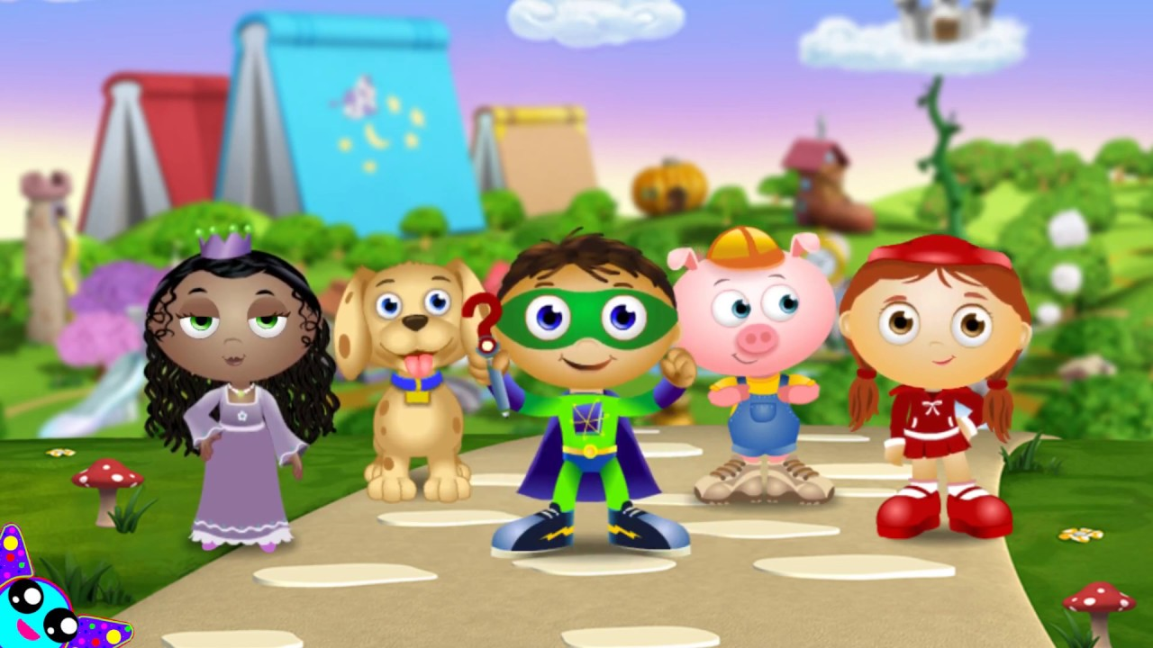 Super Why Characters Names Sound Meet The Heroes Pbs Kids Youtube