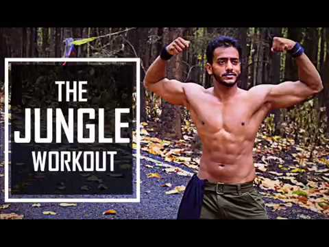 THE JUNGLE WORKOUT | AKSHAY MAURYA | #BeMotivated
