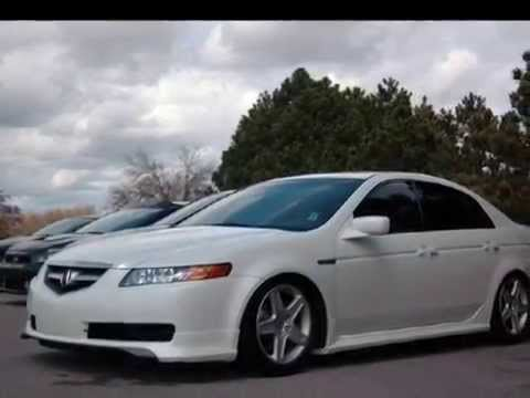 2006 White Diamond Pearl Acura TL - YouTube