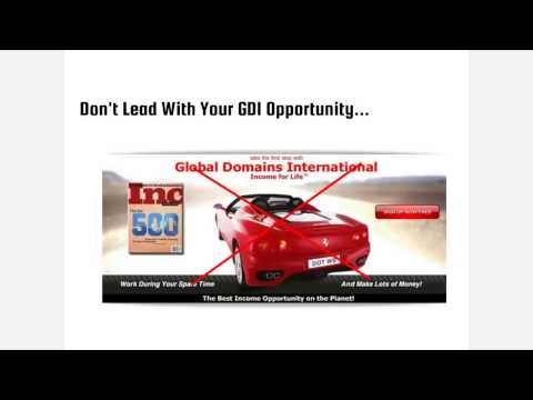 Global Domains International Business Opportunity – How to GET LEADS!