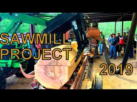 A WEEKEND TO REMEMBER, AMAZING SAW-MILLING MACHINES, GEORGIA SAWING PROJECT 2019
