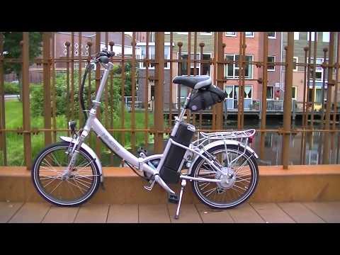 nimoto handy elektrische vouwfiets test nimoto handy e bike folding test youtube