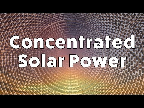 Concentrated Solar Power - Still small but heating up