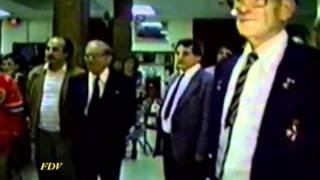 The Former Prime Minister Of Malta Dom Mintoff Vist Toronto 1991