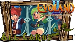 EVOLAND 2 All Card Locations | Game of Cards | Collector Achievement