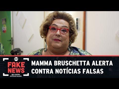 SBT Contra Notícias Falsas: Vítima de Fake News, Mamma ressalta importância da checagem