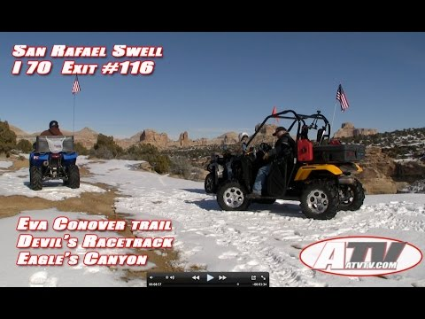 ATV Television Adventure - Devil's Racetrack Part 1 of 2