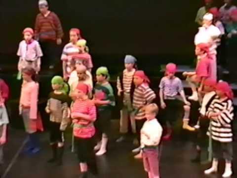 Pirates of Penzance - St. John's Fine Arts School Calgary 1998