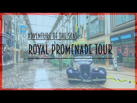 Adventure Of The Seas - Royal Promenade View Cabin