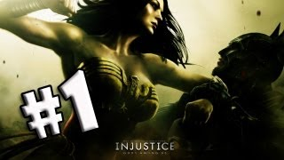 Injustice: Gods Among Us - Demo - Gameplay Batman - Parte 1 (PS3,XBOX)