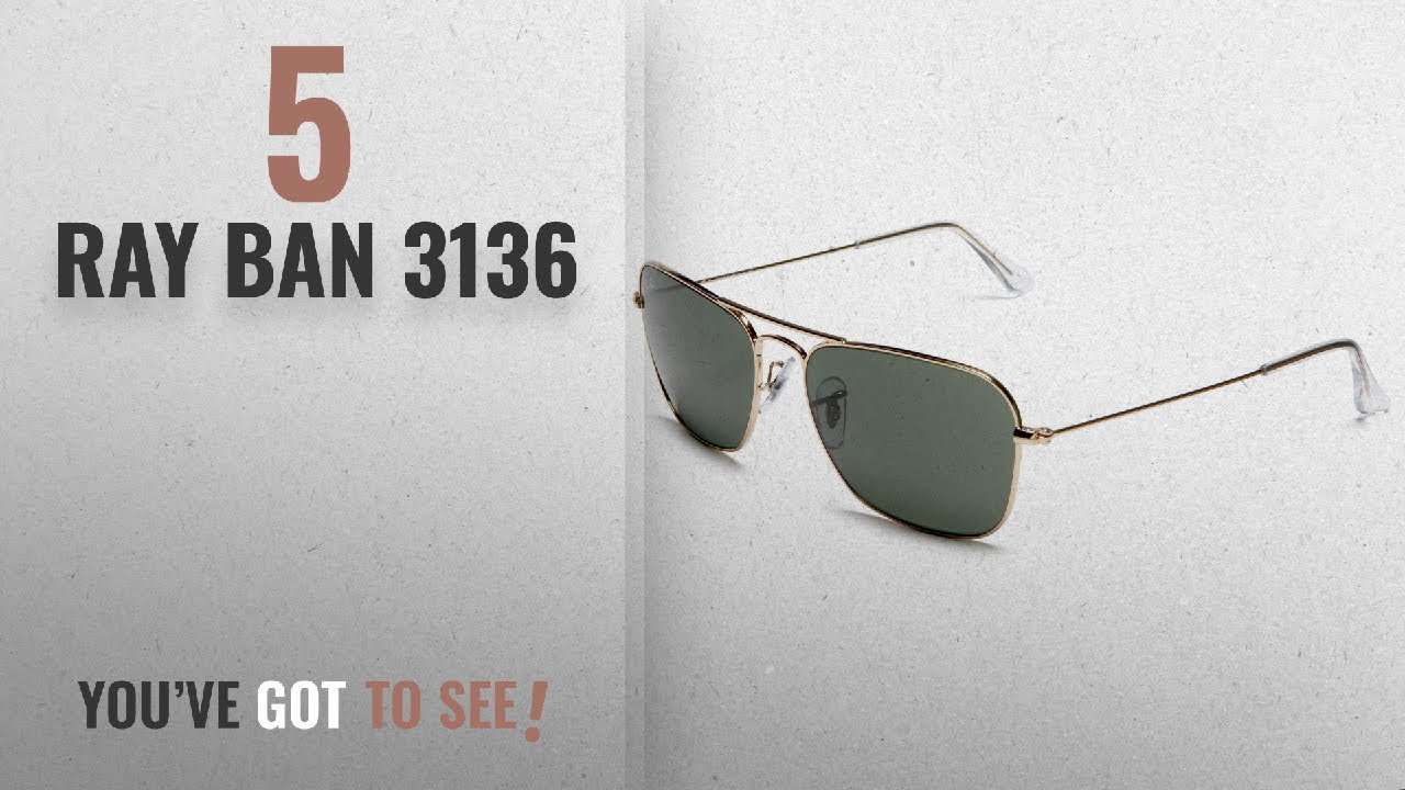 fc97076644 Top 10 Ray Ban 3136   Winter 2018    Ray-Ban CARAVAN - ARISTA Frame ...