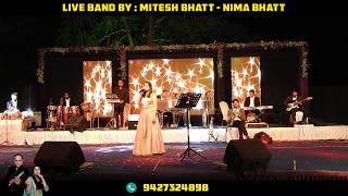 OLD SONGS MEDLEY BY...NIMA BHATT WITH TRANSPARENT GRAND PIANO...MITESH BHATT +91 94273 24898.