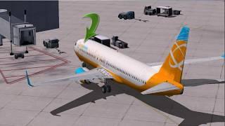 Flight Simulator X steam edition( Desplazar pasarela y abrir puertas)