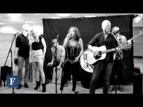 Delta Rae Live From The Forbes Newsroom
