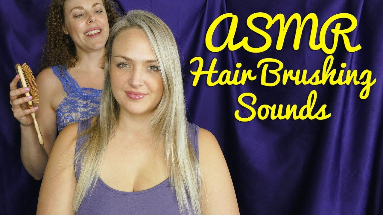 Hair Brushing, Scalp and Hair Sounds ASMR w/ Corrina ...