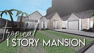 Bloxburg Houses 1 Story Aesthetic
