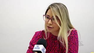 Dayanne Marque, chefe do setor de cadastro e vistorias alerta para o início do processo na SUTRAN de