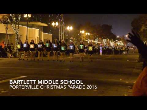 Bartlett Middle School - Porterville Christmas Parade 2016