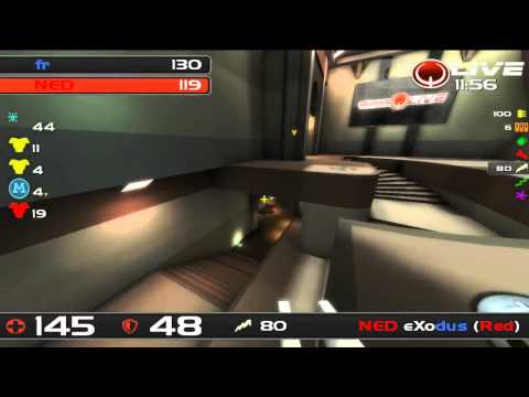 ClanBase Nations Cup 2012 - Netherlands vs France - Quake Live TDM - MAP 2