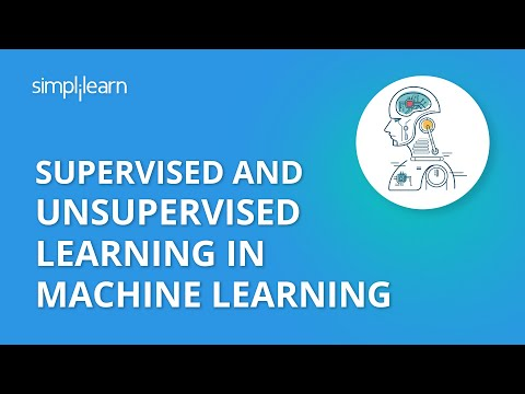 Supervised And Unsupervised Learning In Machine Learning | Machine Learning Tutorial | Simplilearn